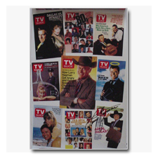Larry Hagman TV Guide Covers